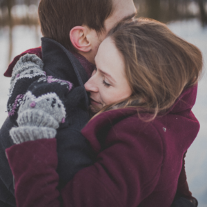 Hugs are a good way to show chornic illness support
